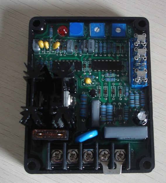 Universal GAVR-20A AVR Generator Automatic Voltage Regulator Module generator gavr 15a universal brushless generator avr 15a voltage stabilizer automatic voltage regulator module fast shipping