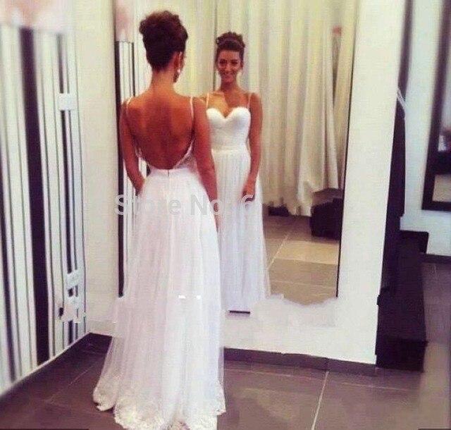 Vestidos de casamento longo simples