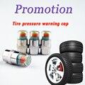 Promoção! 4 PCS 2.4 BAR Car Auto Ferramentas De Diagnóstico Kit Sensor de Tampas Da Haste Da Válvula Monitor de Pressão Dos Pneus 3 cores indicador de Alerta Eye