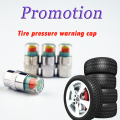 Promotion!4PCS  2.4 BAR  Car Auto Tire Pressure Monitor Diagnostic Tools Kit Valve Stem Caps Sensor 3 color Indicator Eye Alert