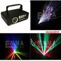 1 w 3d Colorido luz laser discoteca luz laser rgb animação show de laser