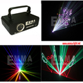 1w 3d Colorful laser light disco laser light rgb animation laser show