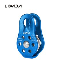 Professional 20KN Rope Pulley Climbing Mountaineering Equipment Fixed Single Pulley Rock Climbing Rescue Survival Caving Pulley цена