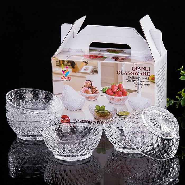 Fan and Diamond Pattern Crystal Bowl Samobor Lead Crystal Criss Cross Pattern Serving Bowl Small Crystal Salad Bowl