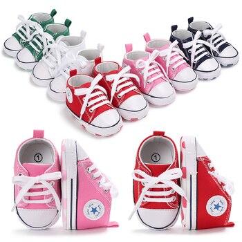 Bebés Zapatos Deporte De Recién Bebé CaminantesBebéZapatillas Lona Para NacidosNiñosNiñasPrimeros 35jcL4RAq