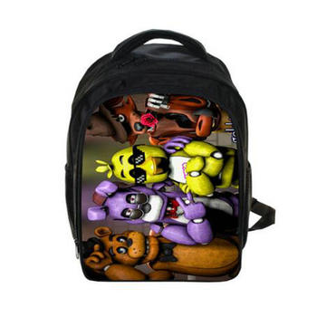 Halloween gift Toy Freddy print Backpack Students School Bag For Girls Boys Rucksack mochila children Backpack customize