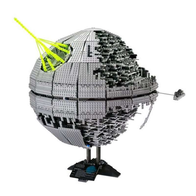 LEPIN 05026 3449Pcs Star Series Wars Death Star Building Blocks Bricks technic Kits Compatible with 10143 Toys Children Gifts city airport vip private plane blocks bricks building technic christmas toys for children compatible with legoeinglys lepin 8911