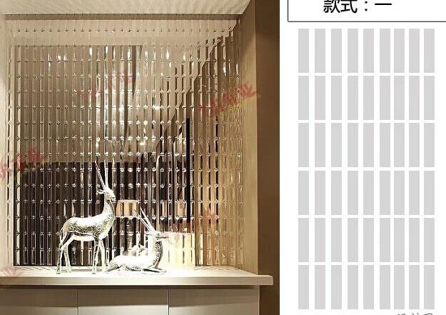 Gordijn Voor Deur : Mm meter kristal glazen kralen deur raam gordijn