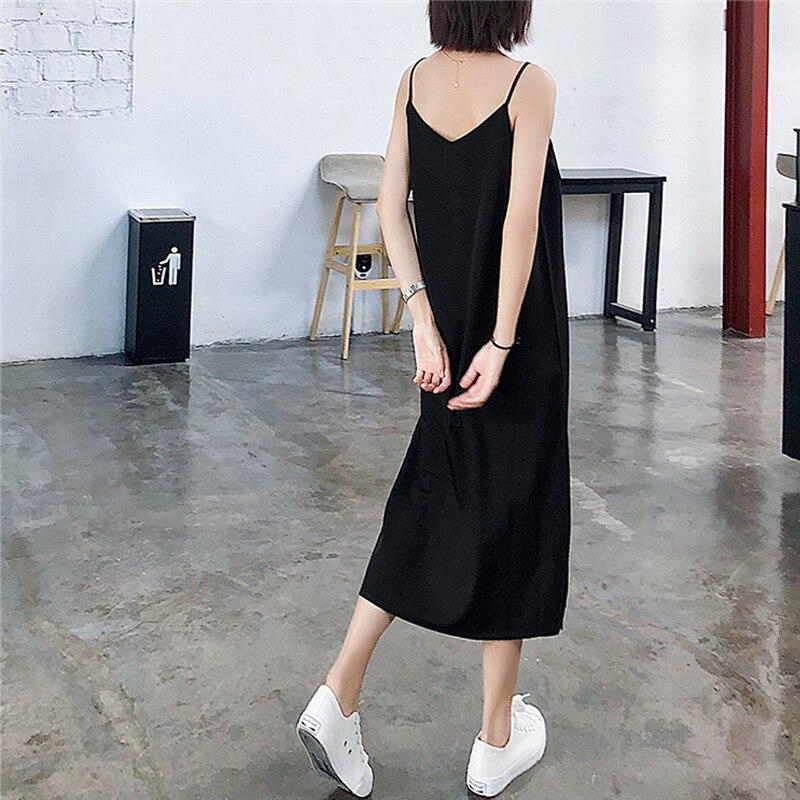 feminino verão 2019 sem mangas com decote