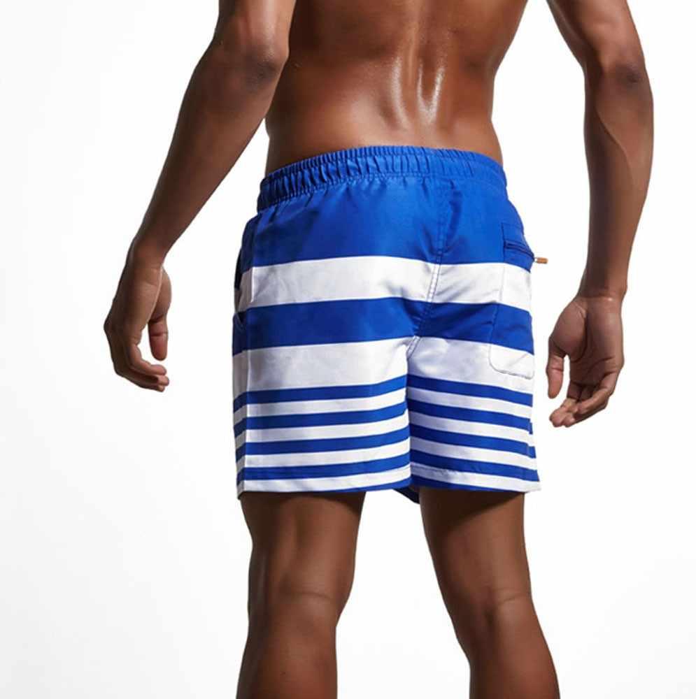 Baru Pria Seksi Baju Renang Pakaian Renang Pria Kolam Celana Pendek Pria Celana Pantai Celana Pendek Olahraga Setelan Surf Celana Pendek Pria Celana Renang DZ501