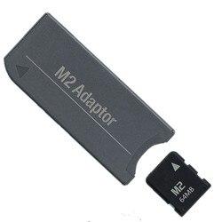 Mała pojemność 64MB karta pamięci M2 mikrokarta karta pamięci + M2 na pendrive MS Pro Duo PSP Adapter