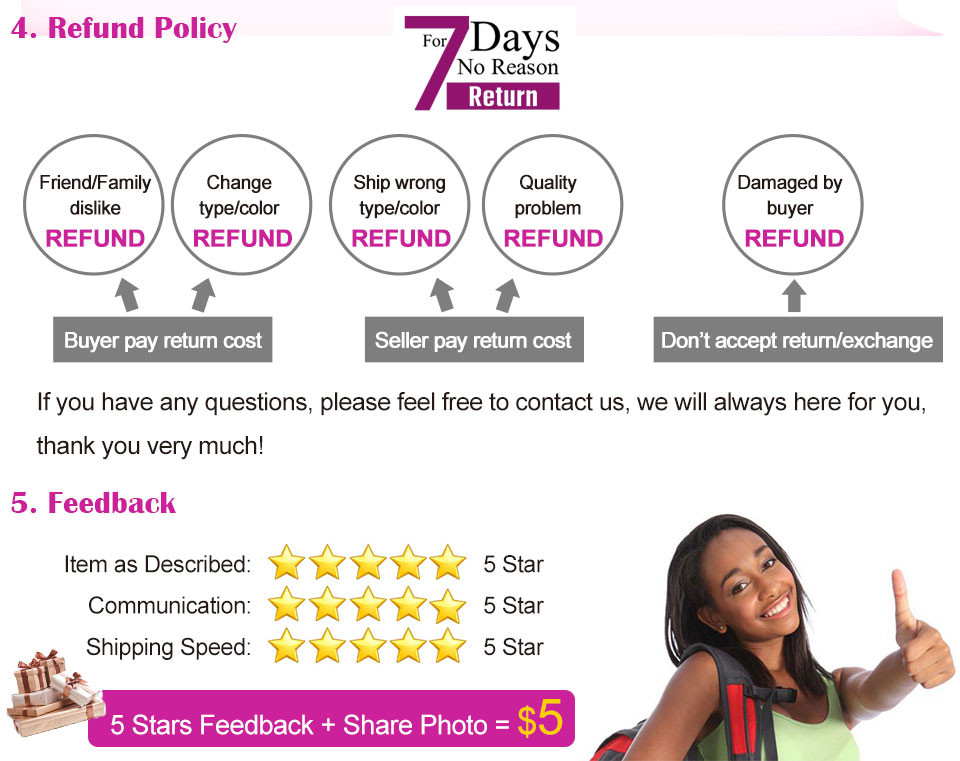 14 five star feedback