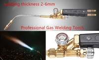 Professional Gas Welding Torch H01 6B Copper Body 304 Stainless Steel Pipe Suitable Welding 2 6mm