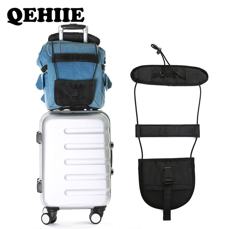 Travel Accessories  Telescopic Luggage Strap Travel Bag Parts Suitcase Fixed Belt Trolley Adjustable Security Accessories
