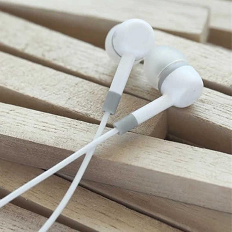 Có dây Tai Nghe Nhét Tai Tai Nghe 3.5mm Tai Tai Nghe Tai Nghe Chụp Tai Có Mic Stereo Tai Nghe 5 Màu Cho Samsung Xiaomi Điện Thoại Máy Tính