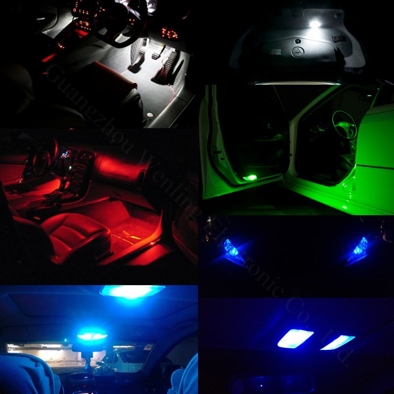 WLJH 1x Canbus COB T10 Δεν οδήγησε σφάλμα W5W - Φώτα αυτοκινήτων - Φωτογραφία 6