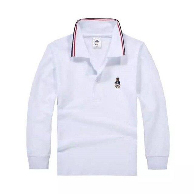 97c3a188c526f Top qualité enfants garçon polo uniforme scolaire chemise pour garçons filles  t chemises d été