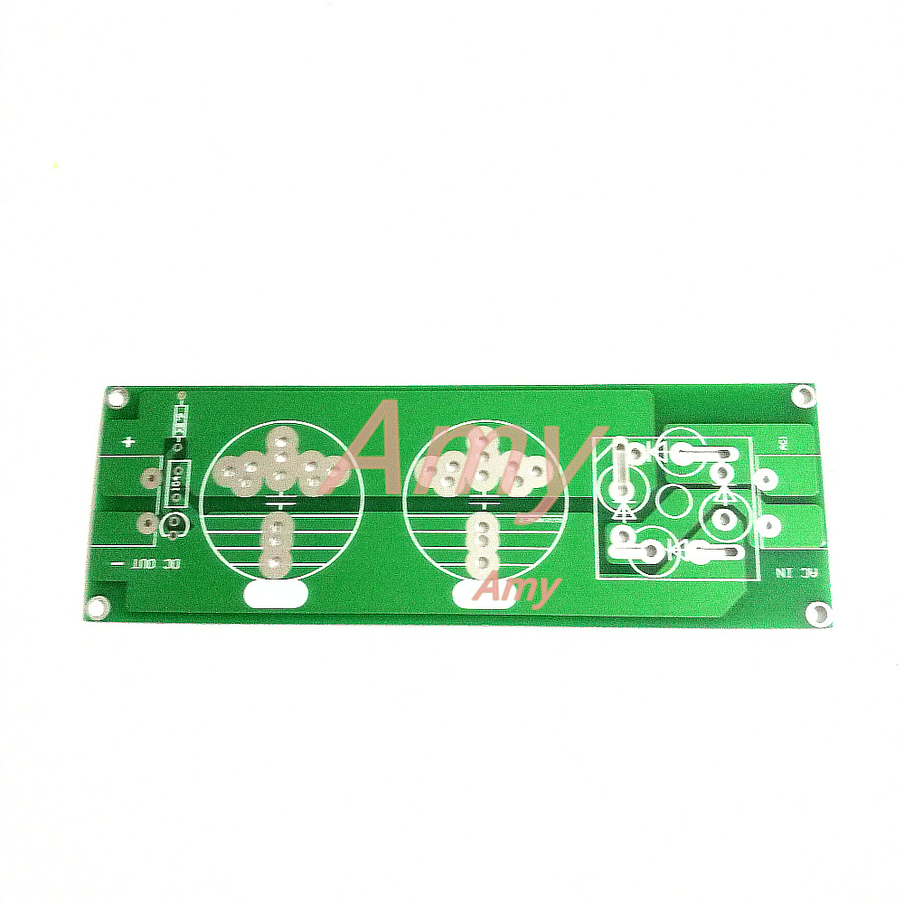 2pcs/lot High Power Single Power Rectifier Filter Power Board PCB Empty Board Can Be Installed With A Number Of Specifications