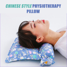 Wormwood buckwheat cervical pillow physiotherapy coarse cloth traction