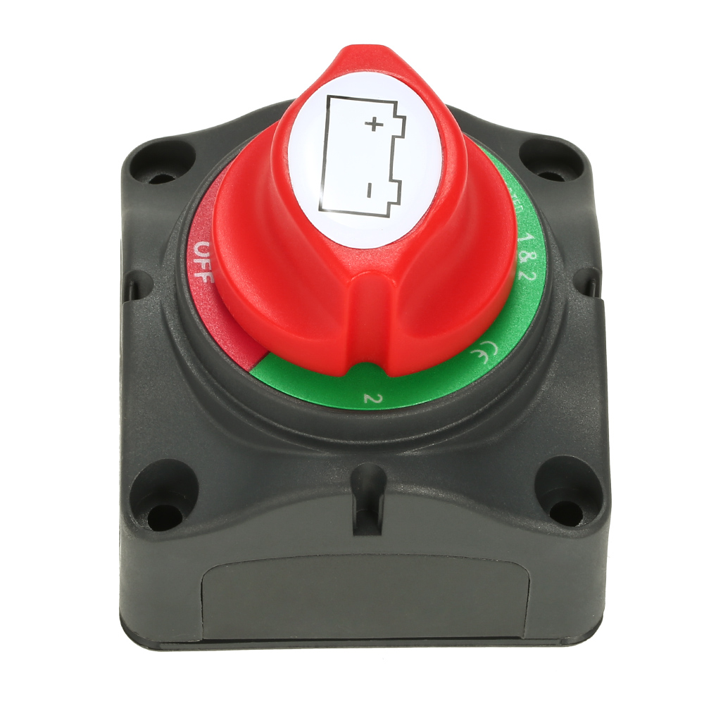 12V/24V Battery Switch Isolator Marine Car RV Boat Switch 4 Position 300 Amp US(China)