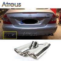 High Quality Stainless Steel Car Exhaust Pipe Tips For Mercedes Benz W220 S Class S430 S500