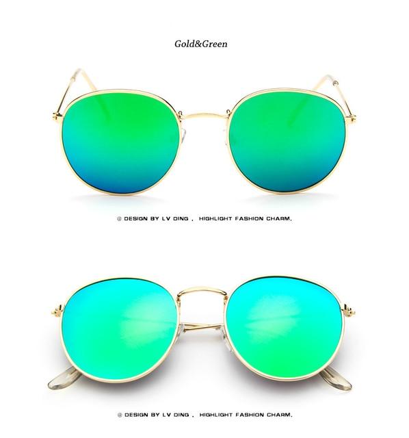 3a23b4b50e5f5 Women Gold Mirror Aviation Sunglasses Brand Designer New Vintage Retro Sun  Glasses For Female Lady Driving UV400