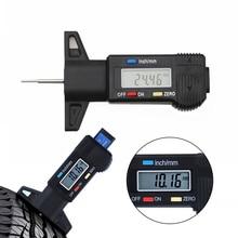 Auto Car Digital Tire Tread Depth Gauge Measurer Tool Caliper LCD Display Tread Checker For Cars Trucks Tire Measuring Tools