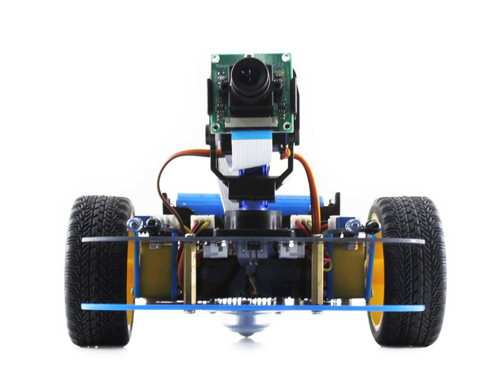 Waveshare AlphaBot robot building kit Smart Car Kit for <font><b>Raspberry</b></font> Pi 3 Model <font><b>B</b></font>+ (<font><b>B</b></font> Plus) includes <font><b>Raspberry</b></font> Pi 3 Model <font><b>B</b></font>+ Camera image