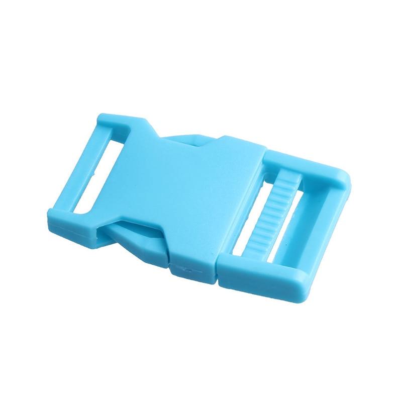 Лямки швейные инструменты собачьи ремни пряжки двойные регулируемые Крючки для рюкзака Высокое качество 1 шт. 25 мм популярная пластиковая пряжка безопасности - Цвет: Sky blue