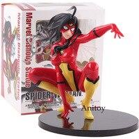 Action Figures Marvel Kotobukiya Bishoujo Statue Spider Woman Spider Woman Figure PVC Collectible Figurines Model Toy