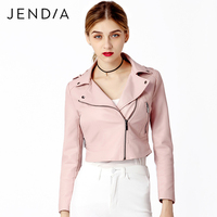 NEWEAR Fashion Slim Motorcycle Jacket Autumn Winter Ladies Blazers Short PU Coats Soft Leather Long Sleeve
