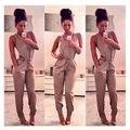 Novas Mulheres Senhoras Clubwear V Playsuit Pescoço Partido Bodycon Jumpsuit & Romper Calças