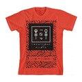 Новая Мода Двадцать Один Пилотов Масштаб Панель Печати Футболка женщины Красного Хлопка Топы Тис Camisas Mujer Harajuku Свободные Футболки Femme