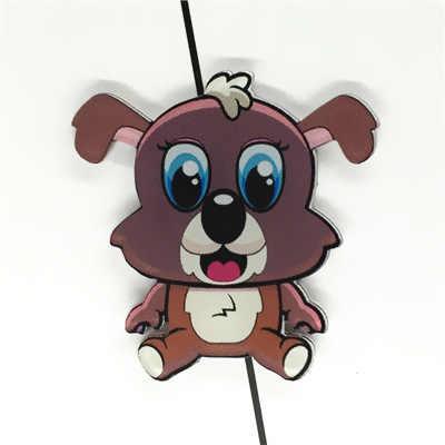 1 PCS ภาพวาดสัตว์ป้ายสำหรับเสื้อผ้าอะคริลิคป้าย Kawaii ไอคอนกระเป๋าเป้สะพายหลัง Pin เข็มกลัด Badge การ์ตูนเด็กของขวัญ