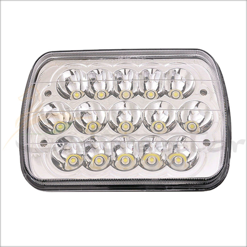 12V High Low Beam 45w 5x7 7x5 Led Headlight 7x6 Led headlamp Replacement H6014/H6052/H6054 Crystal sealed beam аккумулятор yoobao yb 6014 10400mah green