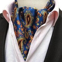 Top Grade Gentleman Style Mens Cravat  Fashion Suit Neckerchief for Party Prom Wedding Gift