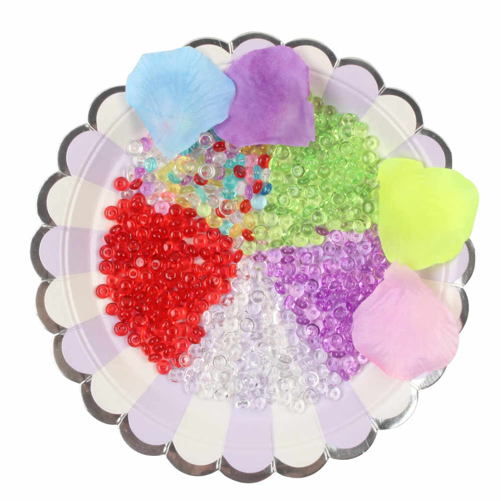 Colorful Beads Squish Slime Fluffy Foam Scented Fishbowl Plasticine Slimes Anti Sludge Kid Clay Soft Toy Crystal Fruit MA16f