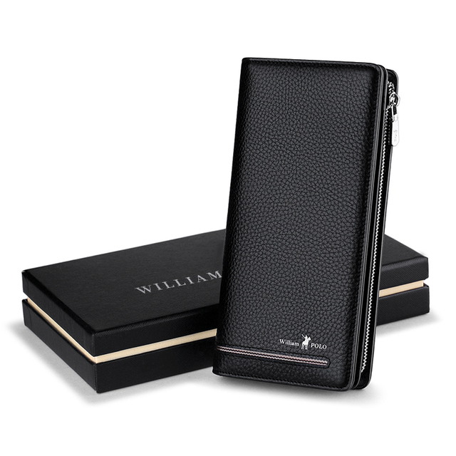 Men's Luxury Business Leather Wallets