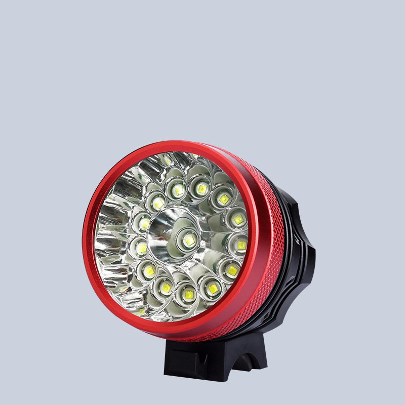 9800LM Mountain Bike Headlights USB T6 Waterproof And Shockproof Night Light Dead Fly Riding Equipment Strong