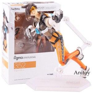 Image 1 - Figma 352 personagem do jogo tracer figura figura de ação pvc joint brinquedo móvel figma tracer boneca figurinhas