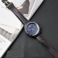 20mm 22mm Genuine Leather Band Strap For Samsung Galaxy Watch Gear S3 S2 Classic Frontier huawei watch 2 pro huami Bracelet