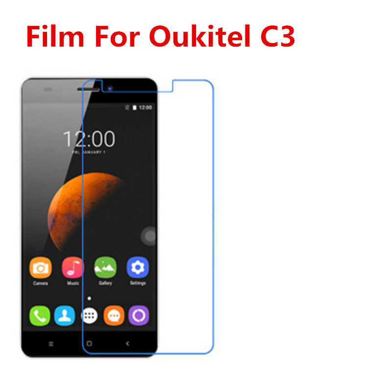 5 Pcs Ultra Thin Clear HD LCD Screen Guard Protector Film With Cleaning Cloth Film For Oukitel C3,