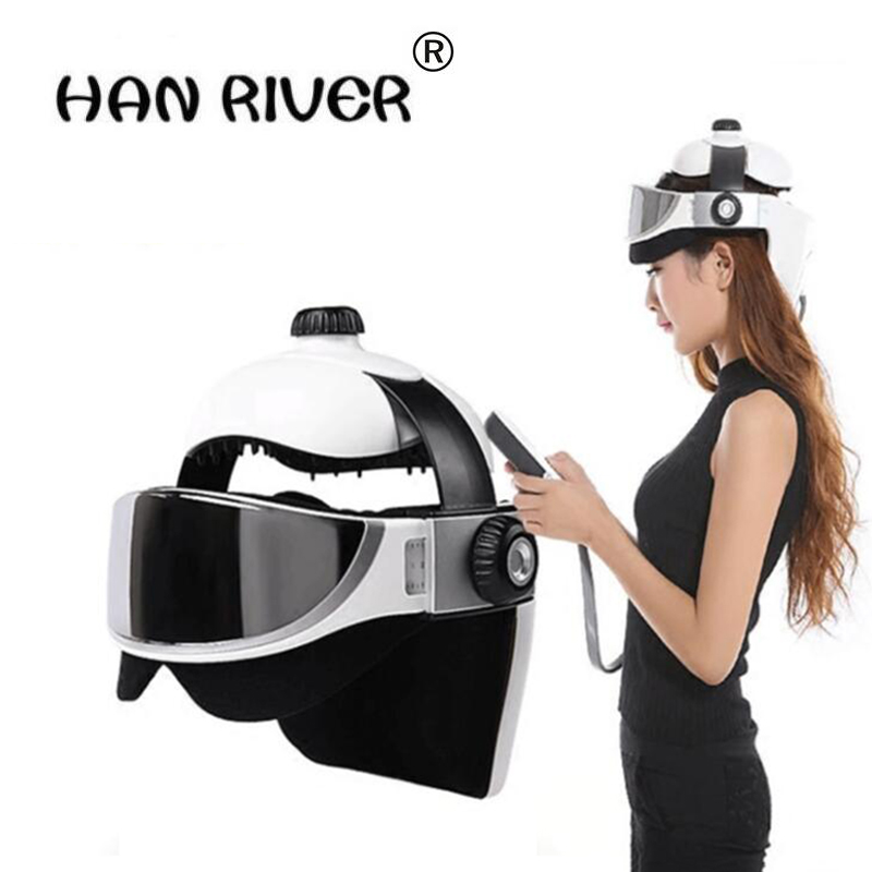 high quality Multifunctional head and eye care massager massager electric head massager insomnia brain eye massage scalp easily vibrating head massager music electric head and scalp massager brain massage improves sleep body vibration machine massage