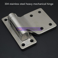 Stainless steel 304 heavy duty hinges Thickening industrial hinge hinge stainless steel door hinge to heavy industry|Cabinet Hinges| |  -