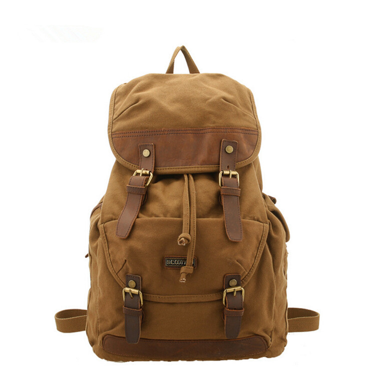 stacy bag 041616 hot sale good quality man vintage canvas backpack male large capacity travel bag hot sale good quality inductive