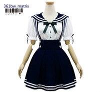 Wholesale Japan Anime Sexy Girls School Uniform Outfit Lolita Maid Costume Dress Halloween Christmas Costume New Free Shipping