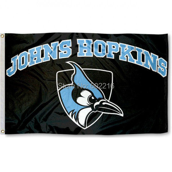 57e5ad9bfeeb Johns Hopkins Blue Jays College Large Outdoor Flag 3ft x 5ft Football  Hockey Baseball USA Flag