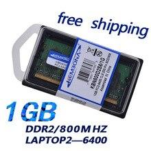 KEMBONA NEW 1GB pc2 6400 ddr2 800 MHz 200pin sodimm Laptop memory RAM 200-pin SO-DIMM ddr2 1gb memory module +Free shipping