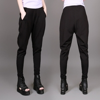 Spring and Summer Hip Hop dance Harem pants Women 2016 Loose plus size Female trousers Casual Plus size S 3XL