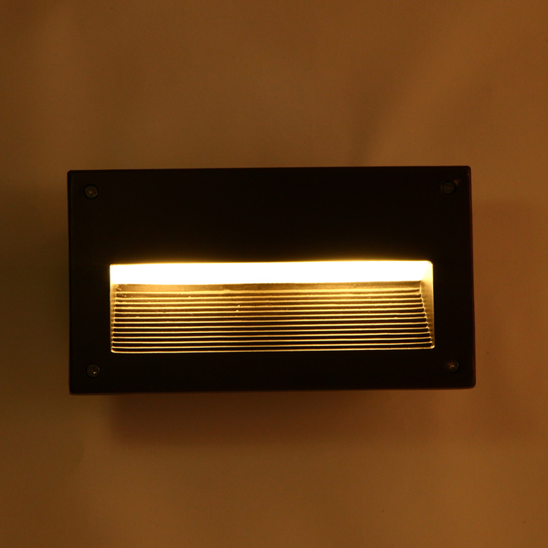 Led recessed wall light outdoor waterproof ip54 modern wall lamp for led recessed wall light outdoor waterproof ip54 modern wall lamp for entry art home decoration sconce lighting fixture 1096 in outdoor wall lamps from aloadofball Image collections